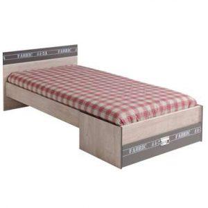Bed Fabric - eikenkleur/grijs - 65