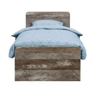Bed Mono - wit/steigerlook - 90x200 cm - Leen Bakker.jpg