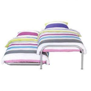 Bed Pascal (incl. onderschuifbed) - aluminiumkleur - 90x200 cm - Leen Bakker.jpg