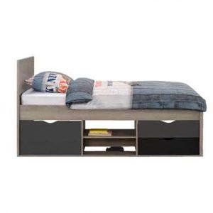 Bed Tempo incl. bedverhoger - grijs eikenkleur - 90x200 cm - Leen Bakker.jpg