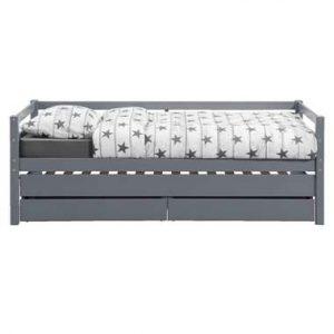Bed Ties met bedverhoger - antraciet - 90x200 cm - Leen Bakker.jpg