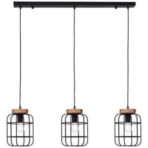 Brilliant hanglamp Gwen 3-lichts - zwart - Leen Bakker.jpg