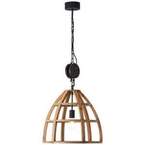 Brilliant hanglamp Matrix - hout - 47 cm - Leen Bakker.jpg