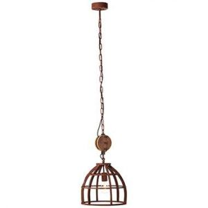 Brilliant hanglamp Matrix - roest - 34 cm - Leen Bakker.jpg