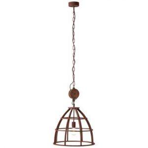 Brilliant hanglamp Matrix - roest - 47 cm - Leen Bakker.jpg