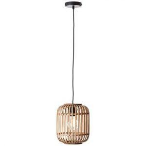 Brilliant hanglamp Woodrow - hout - 21 cm - Leen Bakker.jpg