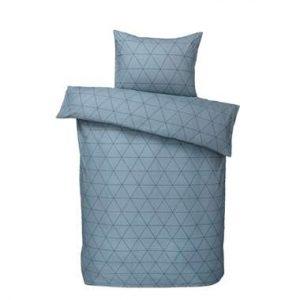 Comfort dekbedovertrek Bologna - blauw - 140x200/220 cm - Leen Bakker.jpg