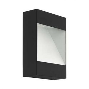 EGLO buiten-LED-wandlamp Manfria - antraciet/wit - Leen Bakker.jpg