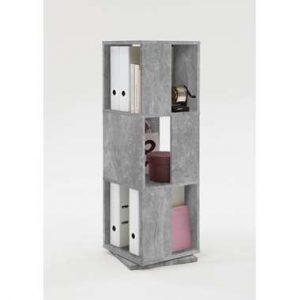 Kast draaibaar Tower - betonkleur - 34x108x34 cm - Leen Bakker.jpg