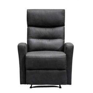 Relaxfauteuil Jackson - stof - zwart - Leen Bakker.jpg