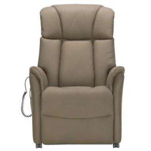 Relaxfauteuil Nebraska - stof - bruin - Leen Bakker.jpg