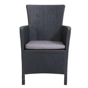 Allibert fauteuil Iowa incl. zitkussen - grijs - Leen Bakker.jpg